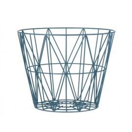 Wire Basket -Petrol-Medium