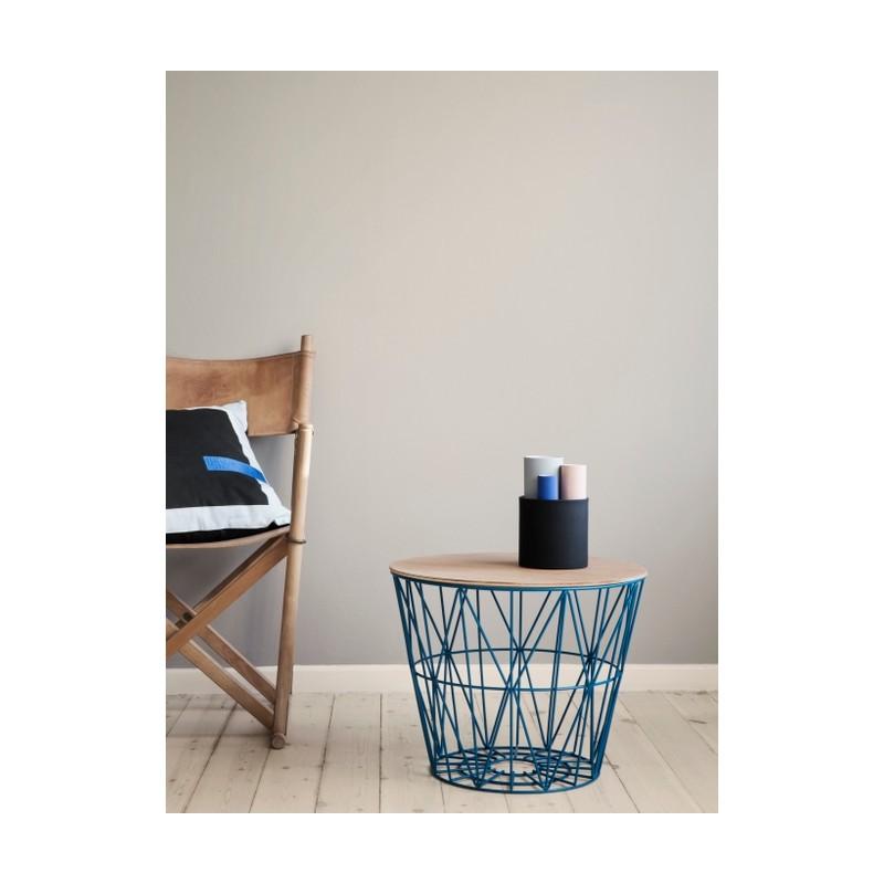 ferm living wire basket top. Black Bedroom Furniture Sets. Home Design Ideas