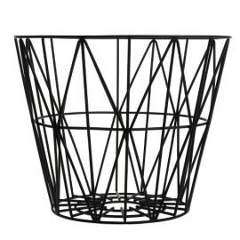 Wire Basket Black - Large