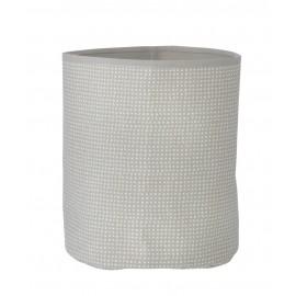 Grey Cross basket - Medium