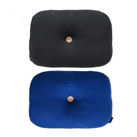 Bumble cushion - Dazzling Blue/Dark Grey