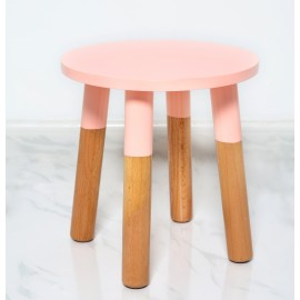 Kids Stool by POMME in peach