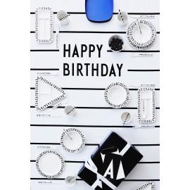 Happy Birthday table cloth
