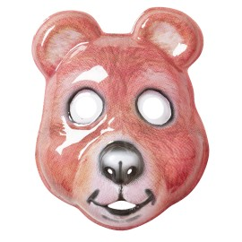 Kids Plastic Mask - Bear