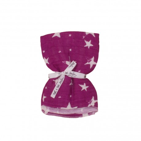 Swaddle purple stars