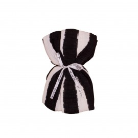 Swaddle black stripes