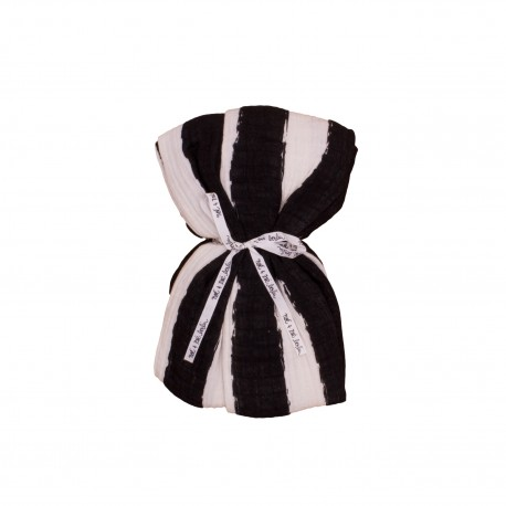 Swaddle black stripes