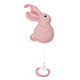 "Rabbit Music box ""pink"""