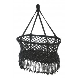 Hanging crib - black