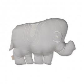 Elephant cushion- grey