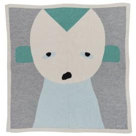 Little Peppe Blanket Green