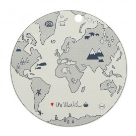 "Placemat ""World Map"""