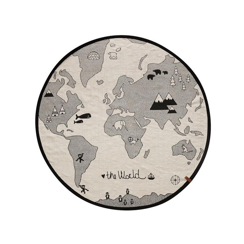 World map rugOyoyAbu DhabiDubaiMarmarland