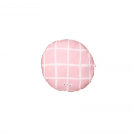 Circle Pillow rose grid