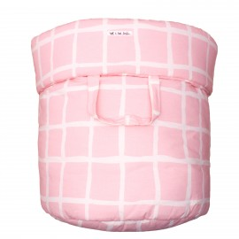 Storage basket L rose grid