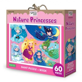 Princess of nature puzzle and book