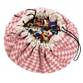 Play and go storage bag - diamond pink