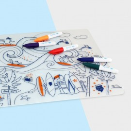 Placemat set - Surf