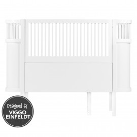 The NEW Sebra Baby & Junior bed white