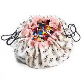 Play and go storage bag - Disney Minnie gold