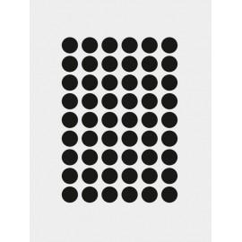 Mini dots Wallsticker - Black