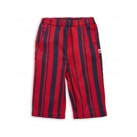 Odd stripe woven pants