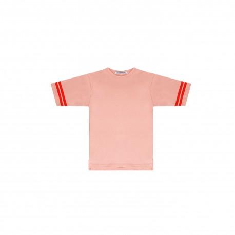 Tee - peach pink/koi