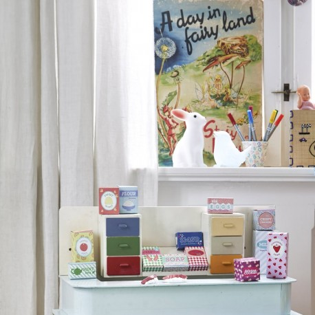 13 DIY Small Cardboard Boxes for Playing Shop