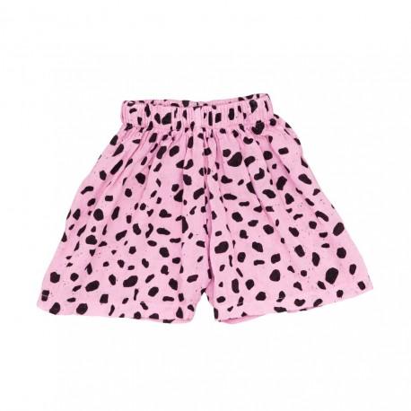 Baby culottes - pink mash