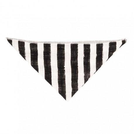 Necker chief - black stripes