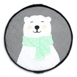 Play and go soft storage bag - Polar bear