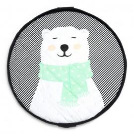 Play and go soft storage bag - Polar bear