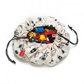 "Play and go ""Mini"" storage bag - Space"