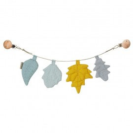 Leaves pram chain- mix mustard