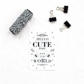 """Card """"Cute Baby"""""""