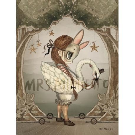 Mrs. Mighetto 18X24 MISS EDDA print