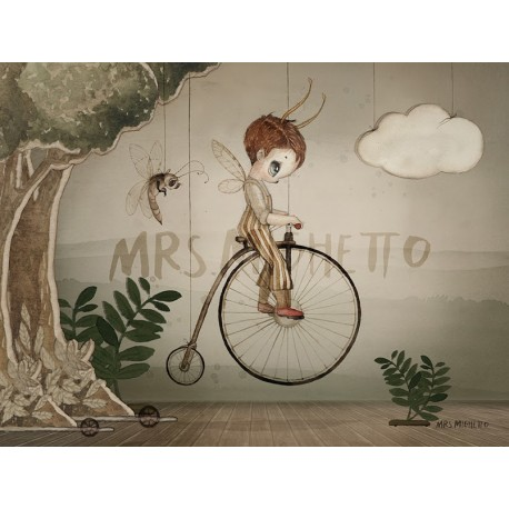 Mrs. Mighetto 24X18 MR JOHN print