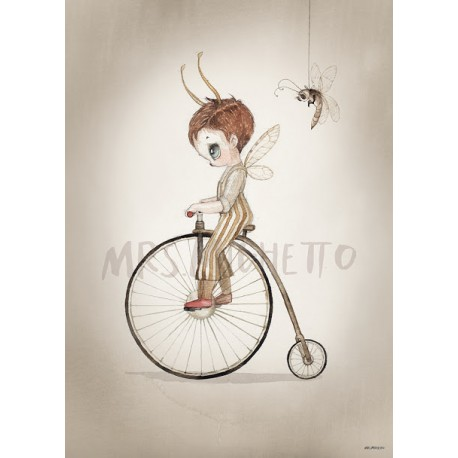 Mrs. Mighetto 50X70 MR JOHN print