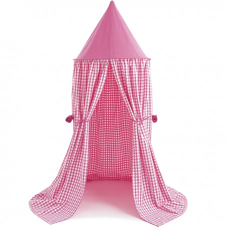 Hanging Tent Pink Gingham