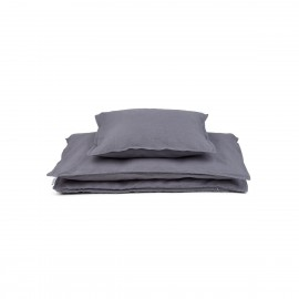 Louise single bedding - stone grey