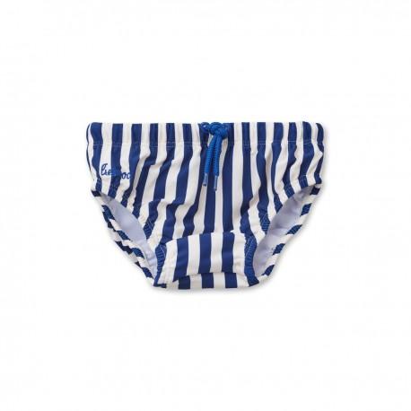 Frej baby boy swim pants - Navy/ creme de la creme
