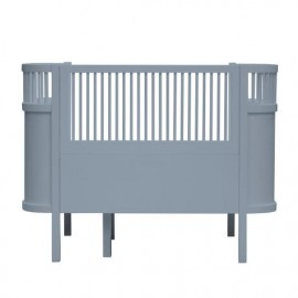 The NEW Sebra Baby & Junior bed - forest lake blue