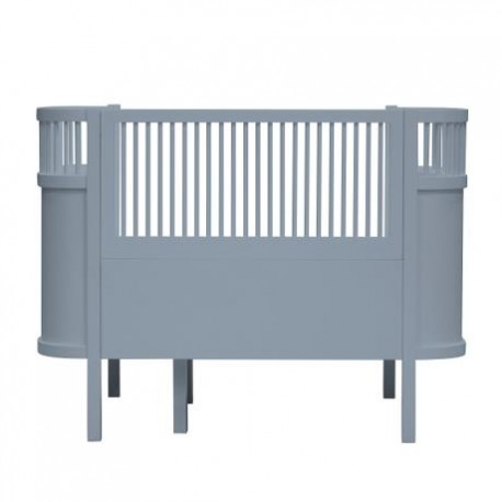 The NEW Sebra Baby & Junior bed - forest lake blue