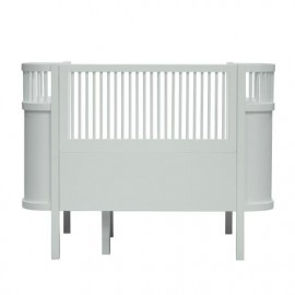 The NEW Sebra Baby & Junior bed - mist green
