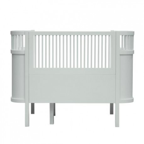 The NEW Sebra Baby & Junior bed - mist green
