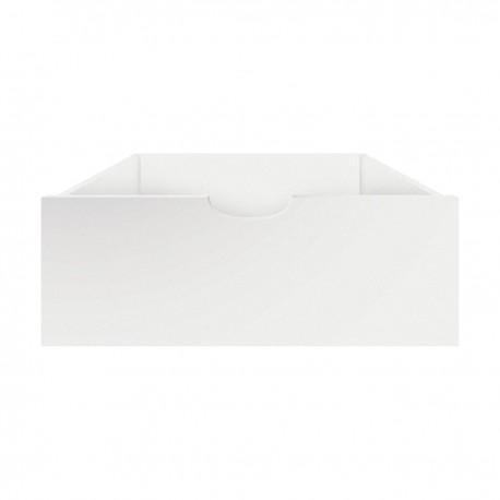 The Sebra bed drawer - white