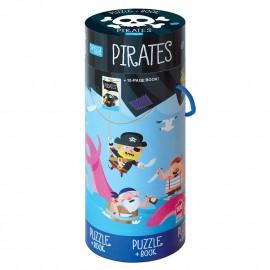 Pirates Book+Giant Puzzle