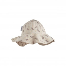 Amelia sun hat- Fern /rose