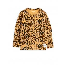 Basic leopard grandpa tee