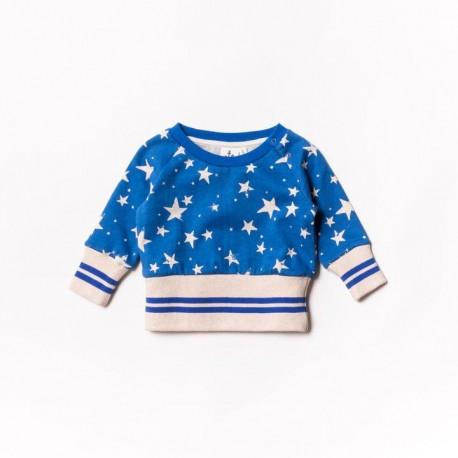 Baby fleece sweater - imperial stars